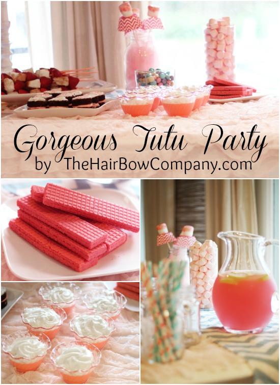 beautiful tutu party